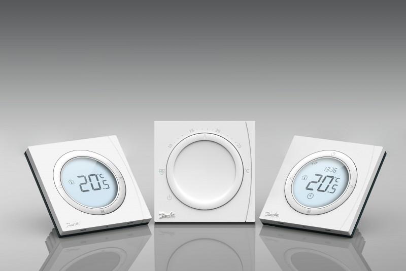 Šildymo valdymo sistemos