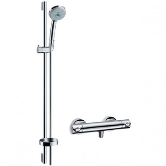 Hansgrohe termostatinis dušo komplektas Croma 100 Multi/Ecostat 1001 SL 650