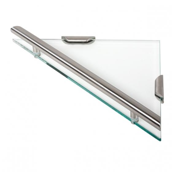 Geesa kampinė stiklinė lentynėlė Nemox Stainless Steel 6521-05