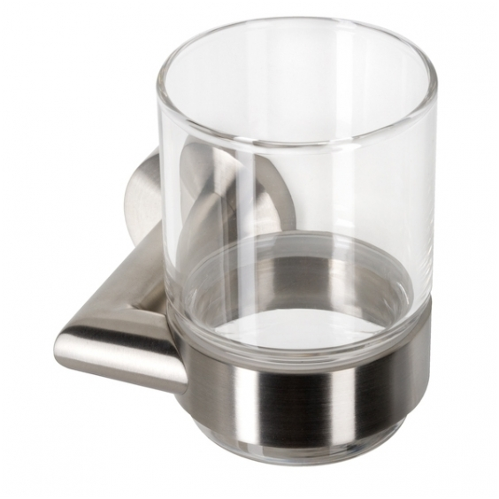 Geesa stiklinė su laikikliu Nemox Stainless Steel 6502-05