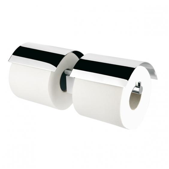 Geesa dvigubas tualetinio popieriaus laikiklis su dangteliu Nexx 7519-02