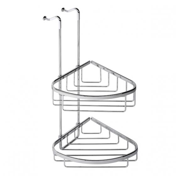 Geesa užkabinamas dvigubas kampinis dušo krepšelis Basket Double 252/255