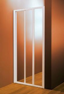 Dušo durys ASDP3-120 POLYESTER PEARL
