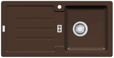 Akmens masės plautuvė FRANKE STG 614 Šokoladas