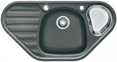 Akmens masės plautuvė FRANKE COG 651-E Akmens pilka