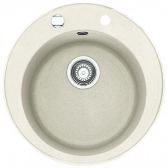 Akmens masės plautuvė FRANKE ROG 610-41 Balta, ventilis ekscentrinis