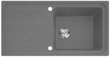 Akmens masės plautuvė FRANKE IMG 611-100 Akmens pilka