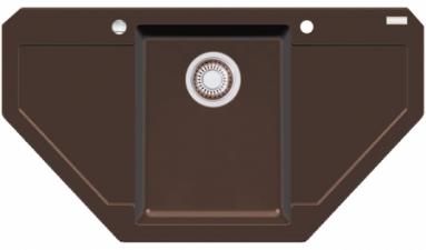 Akmens masės plautuvė FRANKE MRG 612-E Šokoladas