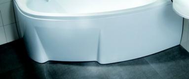 Vonios apdaila RAVAK Asymmetric 150 R