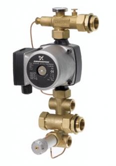Grindų šildymo vandens temperatūros paruošimo mazgas FHM-C6