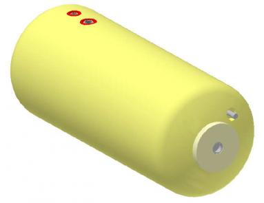 Vandens šildytuvas NIBE-BIAWAR W-E80.24 Plus 80L horizontalus, be teno
