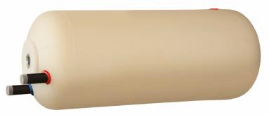 Vandens šildytuvas NIBE-BIAWAR W-E140.25 B 140L horizontalus, be teno