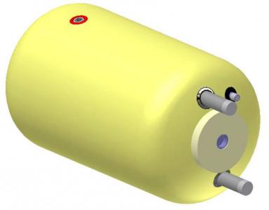 Vandens šildytuvas NIBE-BIAWAR W-E100.26 Plus 100L horizontalus, be teno