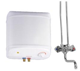 Vandens šildytuvas NIBE-BIAWAR OW-10.2+ virš kriauklės