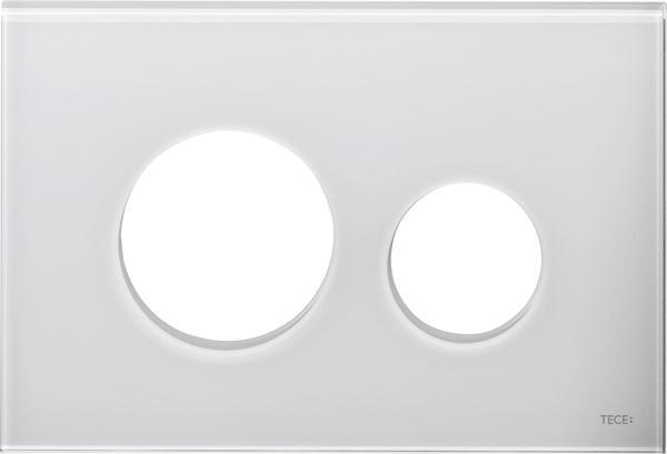 Stiklinis paviršius TECEloop, baltas