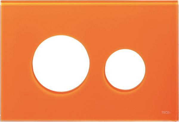 Stiklinis paviršius TECEloop, oranžinis
