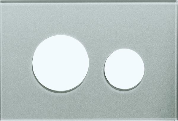 Stiklinis paviršius TECEloop, sidabrinis
