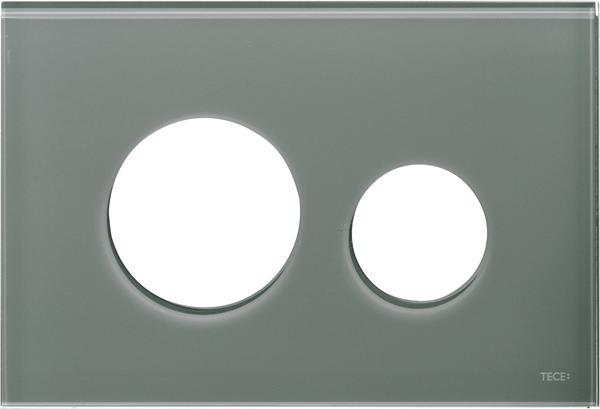 Stiklinis paviršius TECEloop, pilkas