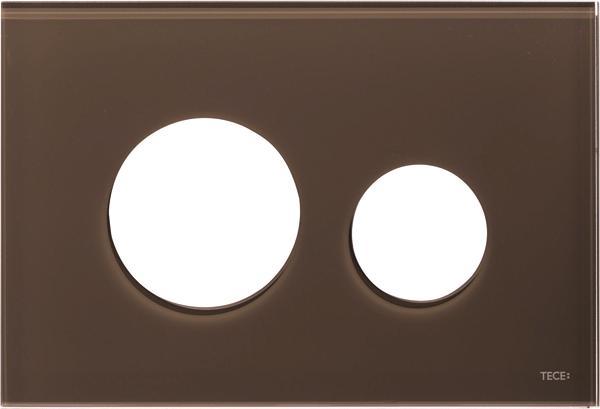 Stiklinis paviršius TECEloop, rudas