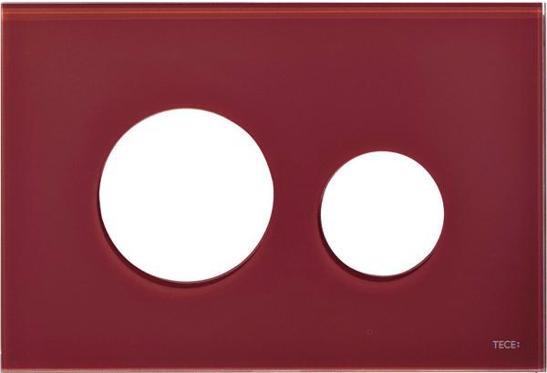 Stiklinis paviršius TECEloop, raudonas