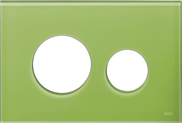 Stiklinis paviršius TECEloop, žalias.
