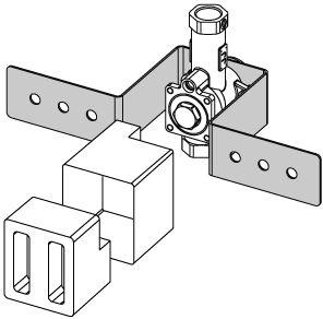 TECE pisuaro modulis (tvirtinamas į mūrą)