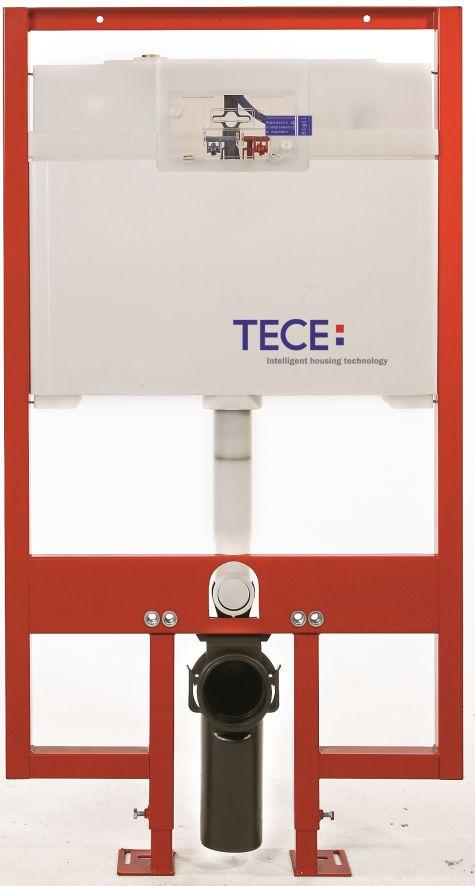 TECE universalus WC modulis su 8cm storio vandens nuleidimo bakeliu