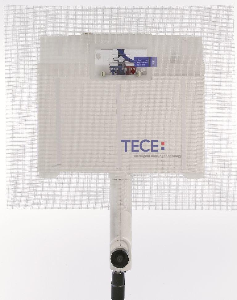 TECE nuplovimo bakelis 8cm storio, pritaikytas pastatomam klozetui