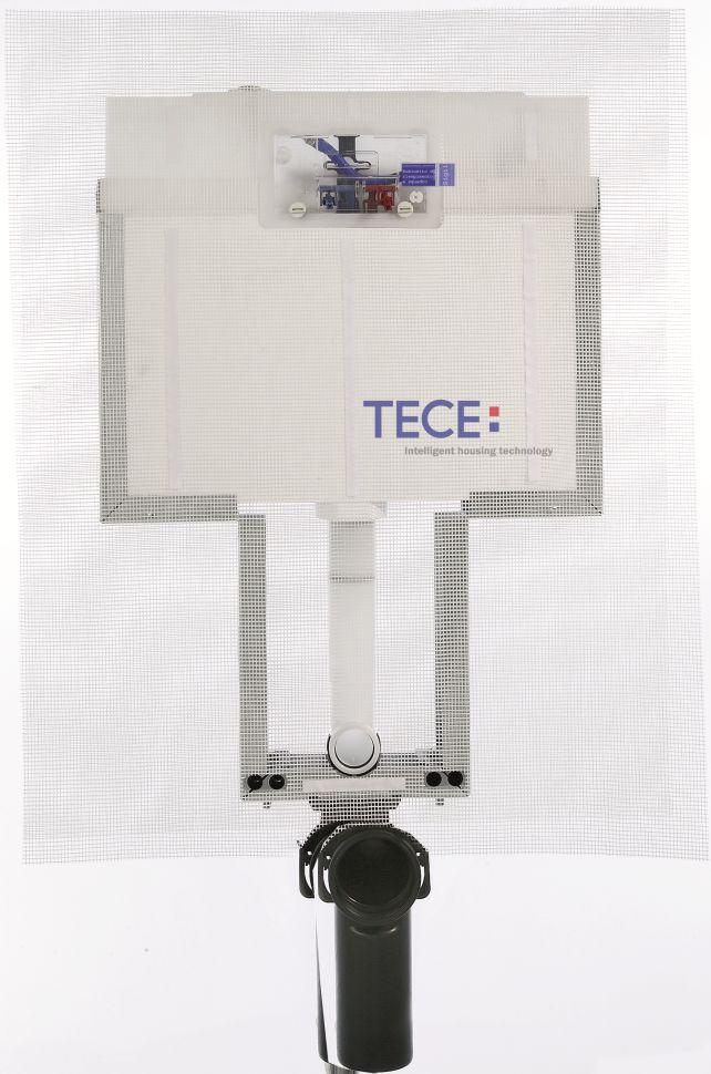 TECE vandens nuleidimo bakelis 8cm storio, tvirtinamas į mūrą