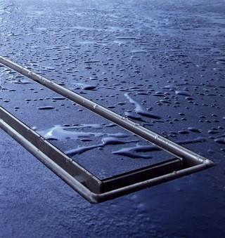 Akcija! TECE dušo latako komplektas su grotelėmis Plate 90cm