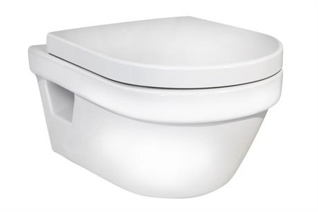 Pakabinamas unitazas Gustavsberg Hygienic Flush su Soft-close dangčiu