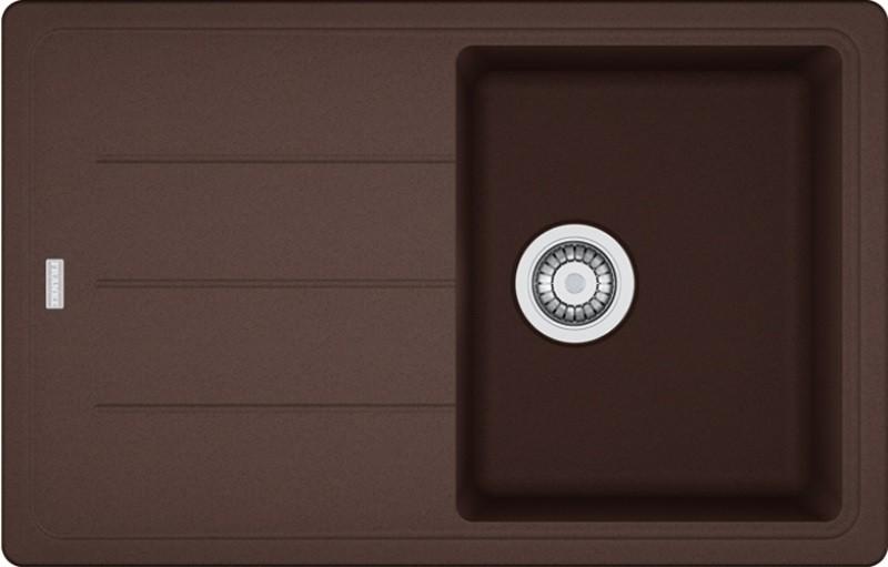 Akmens masės plautuvė FRANKE BFG 611 Šokolado