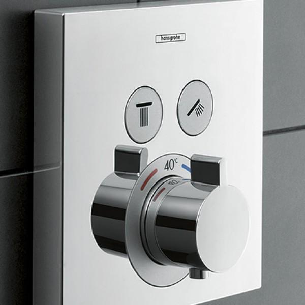 Hansgrohe Showerselect 15763000 potinkinis termostatinis maišytuvas dušui