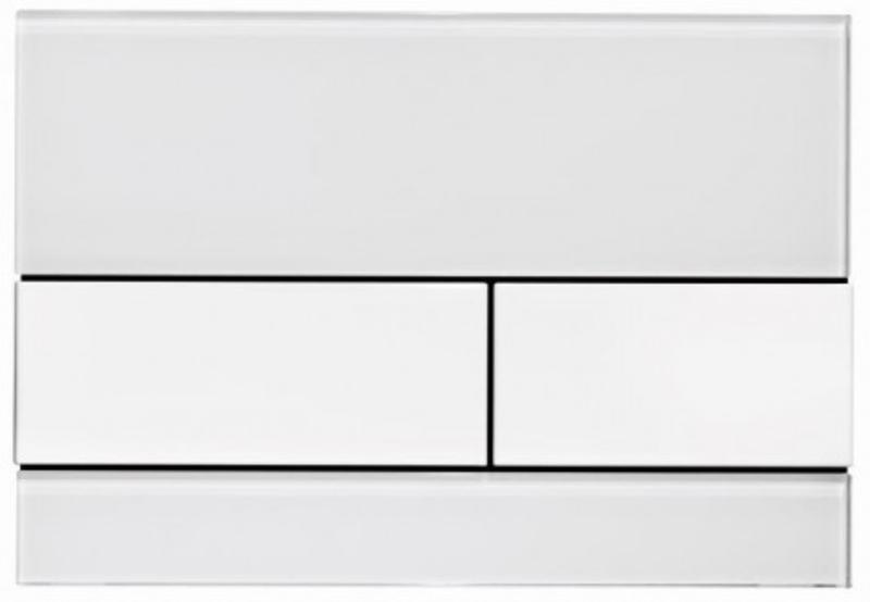 Vandens nuleidimo mygtukas TECEsquare, baltas baltas