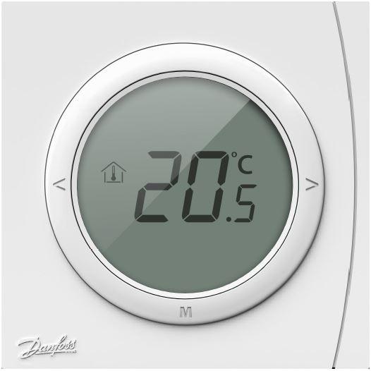 Kambario termostatas WT-D Danfoss potinkinis