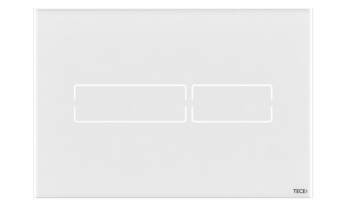 TECElux Mini vandens nuleidimo klavišas touch-free (baltos spalvos)