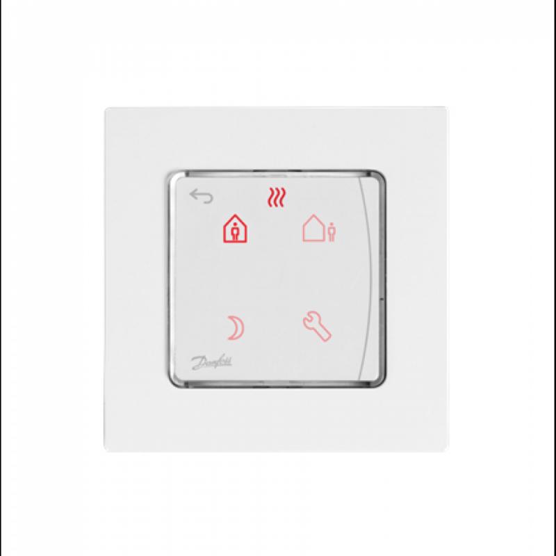Programuojamas termostatas Danfoss Icon potinkinis